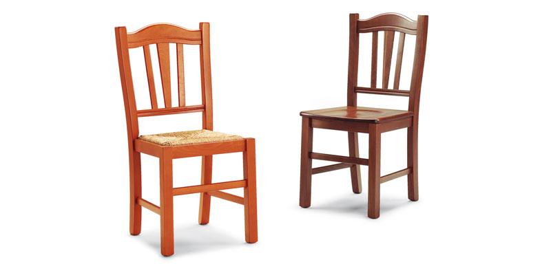 sedie rustiche in legno massello offerte progetto sedia