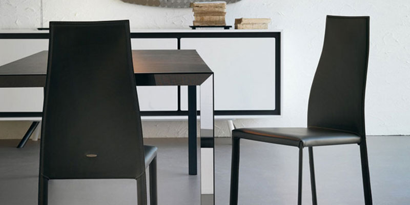 Sedie in cuoio e pelle offerte e prezzi progetto sedia for Sedie in cuoio