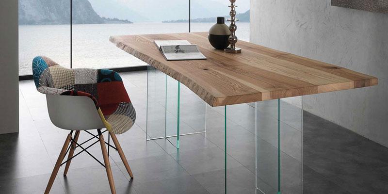 Tavoli design moderni in legno vetro cristallo offerte for Tavoli moderni in vetro