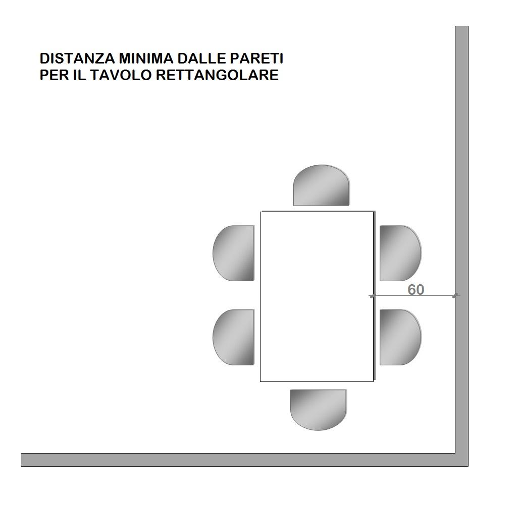 Dimensioni Tavolo Sala Da Pranzo come scegliere il tavolo per la casa : mini guida - progetto