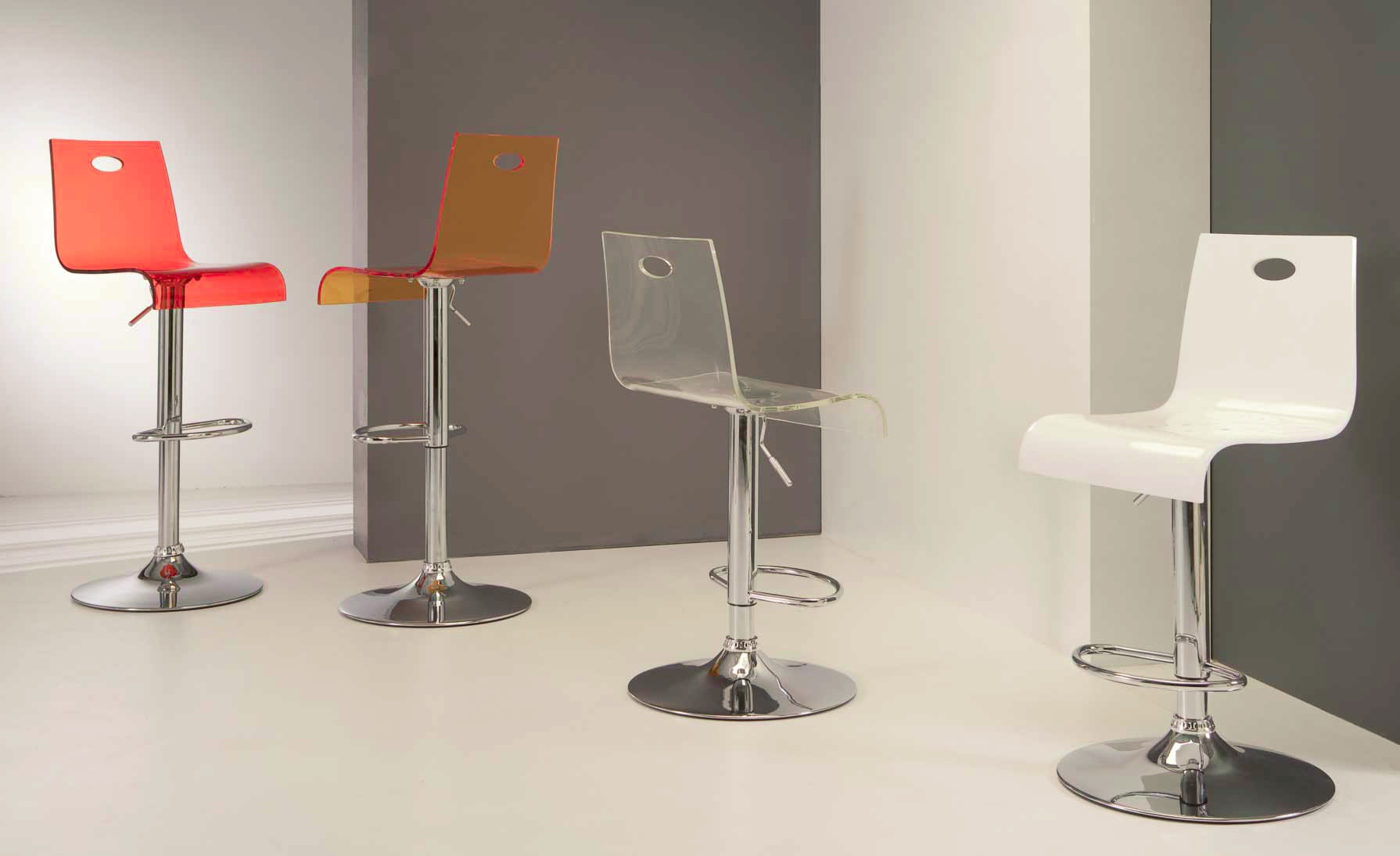 Virtual Stool Sgabello in metallo