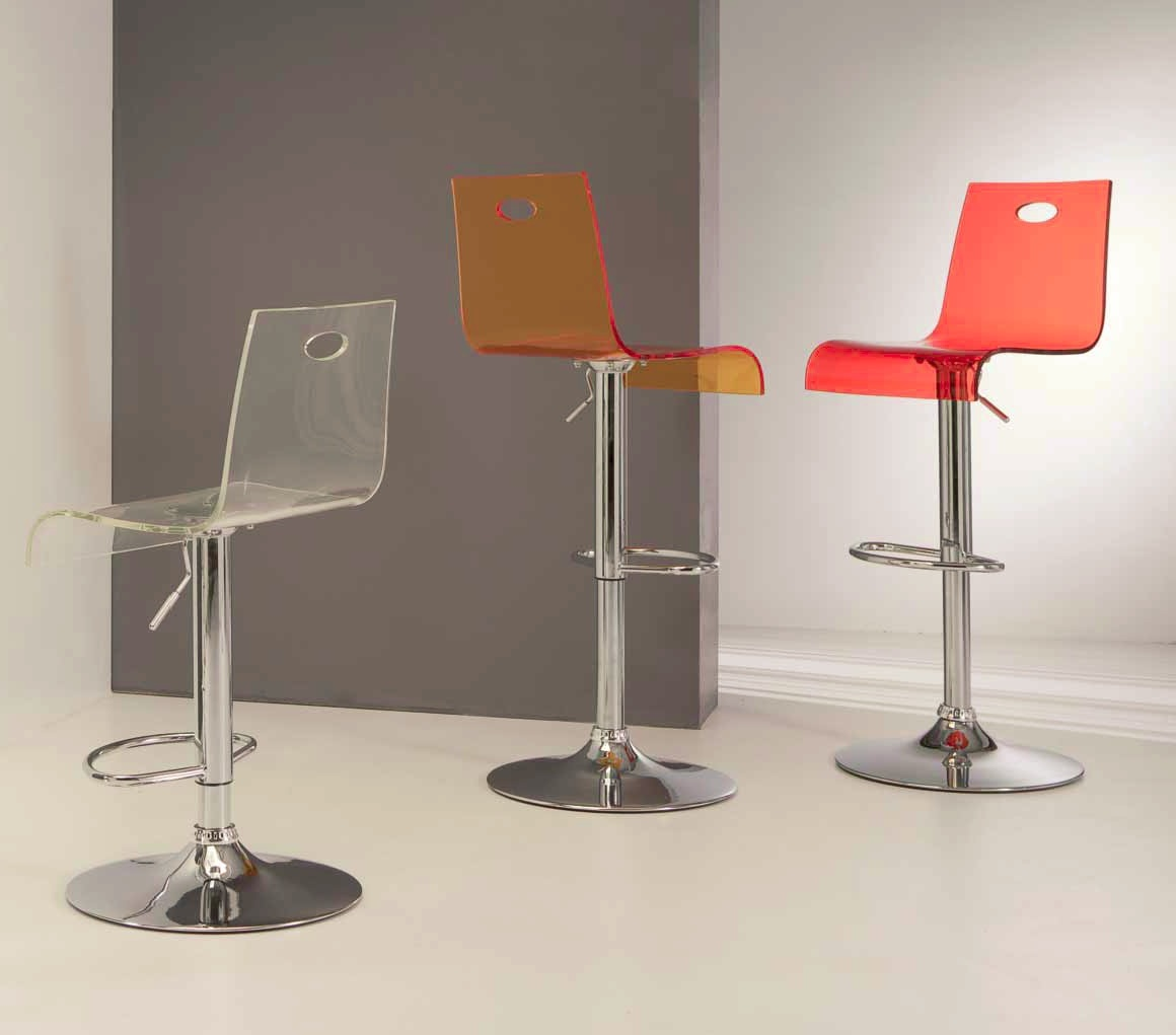 Virtual Stool Sgabelli in plastica