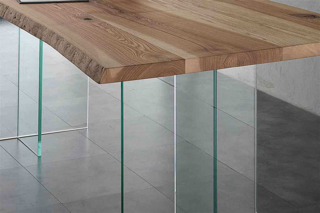 Ash Glass  300x100 Tavolo di design