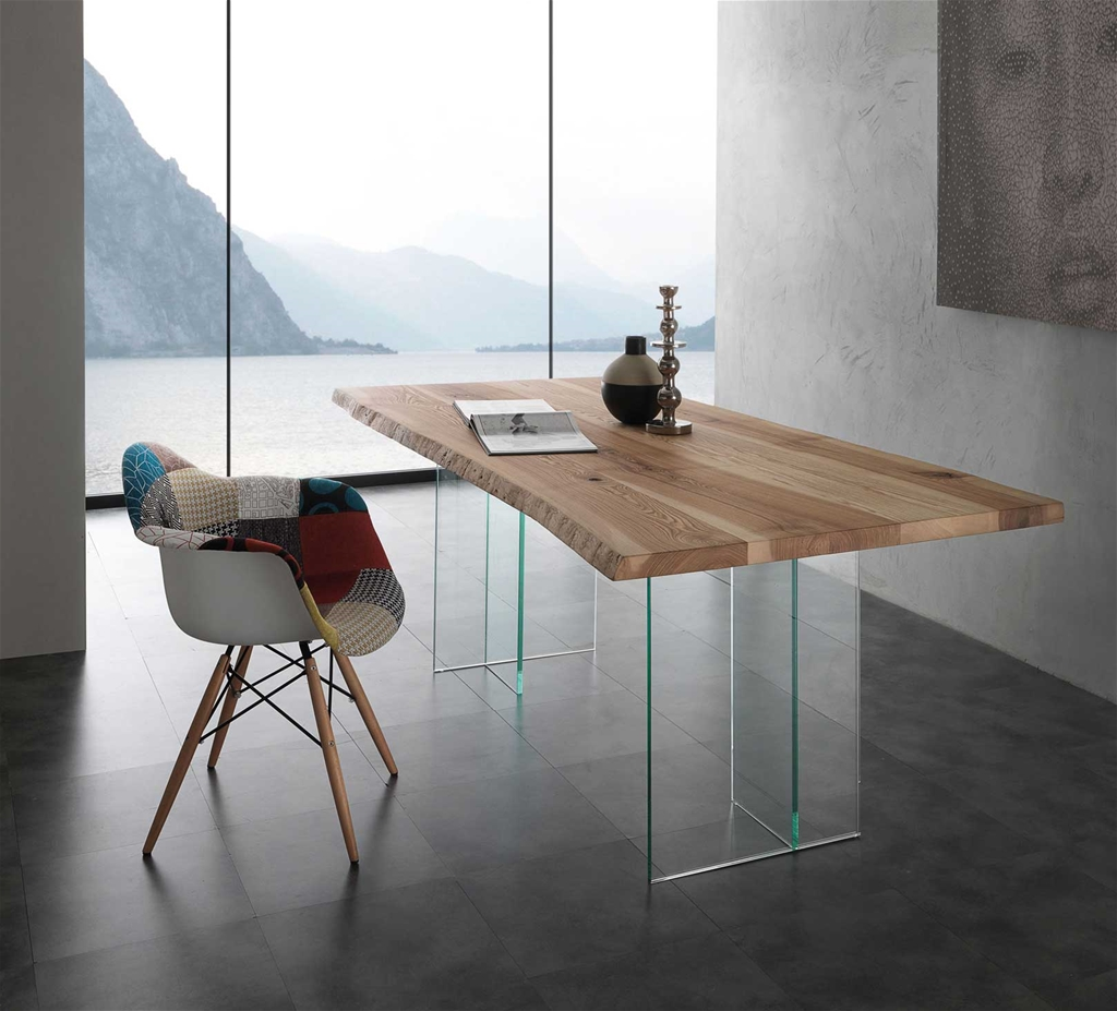 Ash Glass  200x100 Tavolo di design