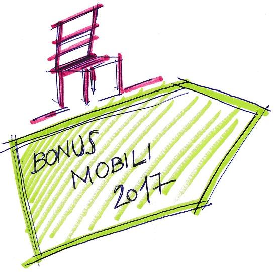 Bonus fiscale 2017 per l 39 acquisto di nuovi mobili e for Acquisto mobili ristrutturazione 2018