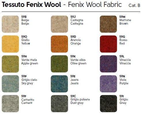 Tessuto Fenix Wool - Midj