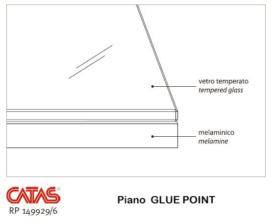 Delta Plus 140 (180-220-260) Tavolo di design